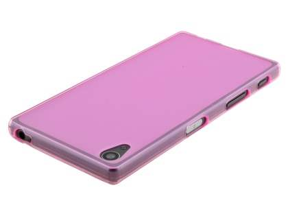 Frosted TPU Case for Sony Xperia Z5 - Pink