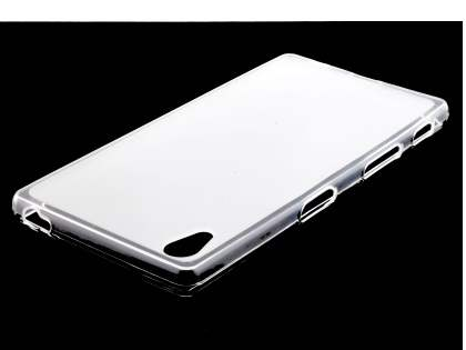 Frosted TPU Case for Sony Xperia Z5 - Clear