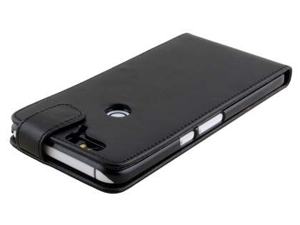 Synthetic Leather Flip Case for Huawei Nexus 6P - Black