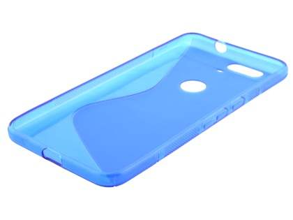 Wave Case for Huawei Nexus 6P - Frosted Blue/Blue