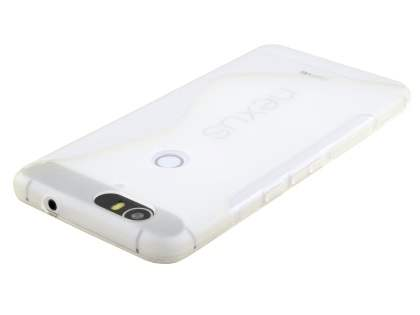 Wave Case for Huawei Nexus 6P - Frosted Clear/Clear
