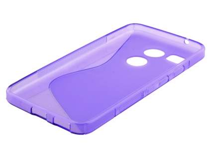 Wave Case for LG Nexus 5X - Frosted Purple/Purple