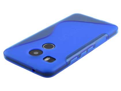 Wave Case for LG Nexus 5X - Frosted Blue/Blue
