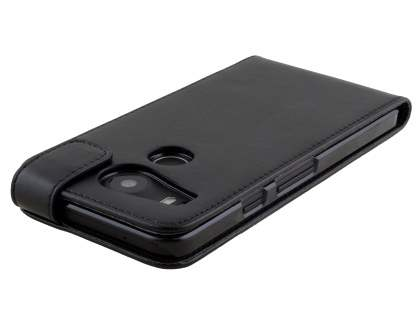 Synthetic Leather Flip Case for LG Nexus 5X - Black