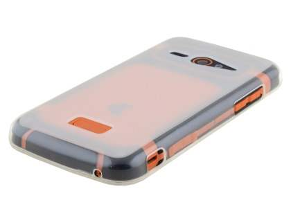 Frosted TPU Case for ZTE Telstra Tough Max - Clear