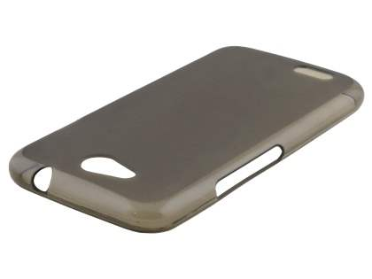 Frosted Colour TPU Gel Case for ZTE FIT 4G Smart - Grey