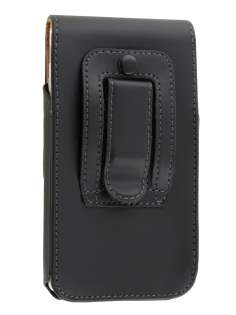 Smooth Synthetic Leather Vertical Belt Pouch for Sony Xperia E4g