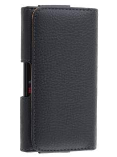 Textured Synthetic Leather Belt Pouch for Sony Xperia E4g