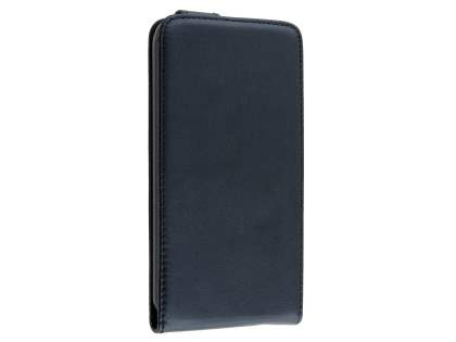 Synthetic Leather Flip Case for Huawei G8 - Black