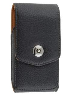 Textured Synthetic Leather Vertical Belt Pouch for Sony Xperia Z5 Compact - Belt Pouch