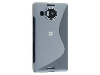 Wave Case for Microsoft Lumia 950 XL - Frosted Clear/Clear Soft Cover