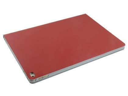 Premium Genuine Leather Portfolio Case with Stand for iPad Pro 12.9 - Red