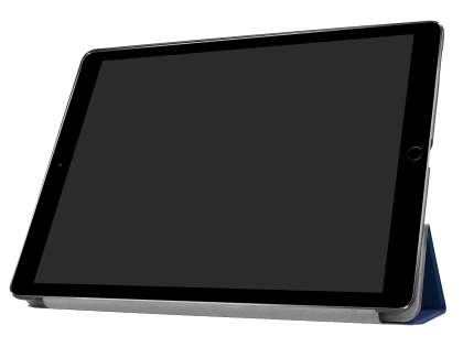 Premium Slim Synthetic Leather Flip Case with Stand for iPad Pro 12.9 - Dark Blue
