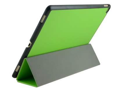 Premium Slim Synthetic Leather Flip Case with Stand for iPad Pro 12.9 - Green Leather Flip Case