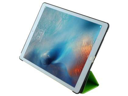Premium Slim Synthetic Leather Flip Case with Stand for iPad Pro 12.9 - Green