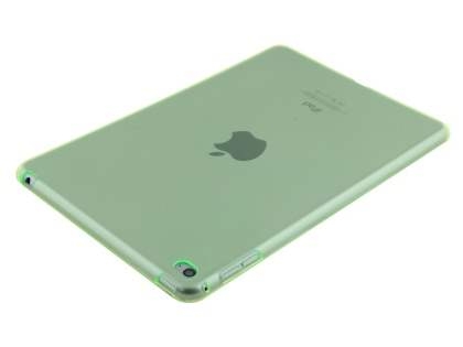 Colour TPU Gel Case for iPad Mini 4 - Green Soft Cover
