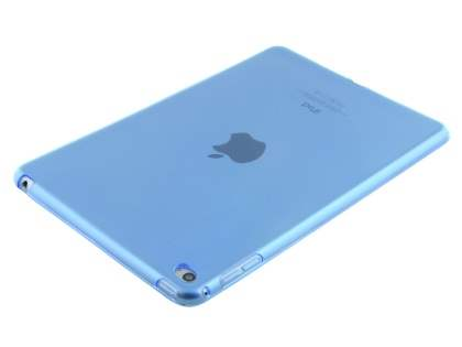 Colour TPU Gel Case for iPad Mini 4 - Blue Soft Cover