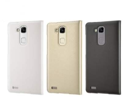 Genuine Huawei Ascend Mate7 Smart View Flip Case - Beige