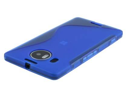 Wave Case for Microsoft Lumia 950 XL - Frosted Blue/Blue