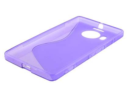 Wave Case for Microsoft Lumia 950 XL - Frosted Purple/Purple