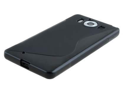 Wave Case for Microsoft Lumia 950 - Frosted Black/Black