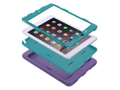 Impact Case for iPad Mini 1/2/3 - Purple/Teal