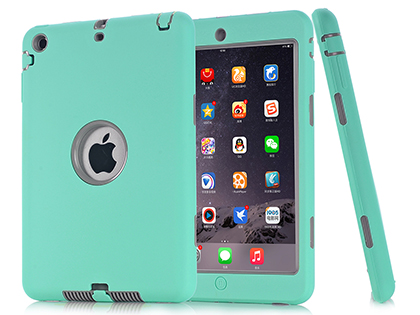 Impact Case for iPad Mini 1/2/3 - Mint/Grey