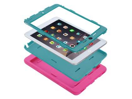 Impact Case for iPad Mini 1/2/3 - Pink/Teal