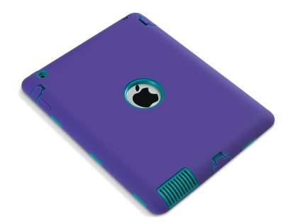 Impact Case for iPad 2/3/4 - Purple/Teal