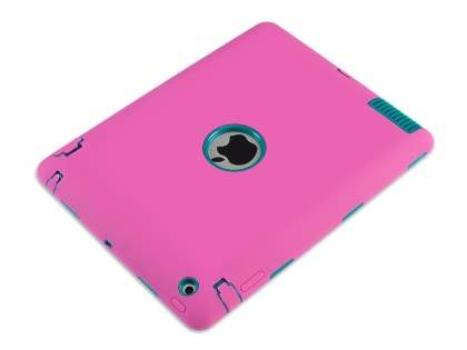 Impact Case for iPad 2/3/4 - Pink/Teal