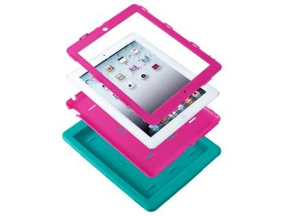 Impact Case for iPad 2/3/4 - Blue/Pink