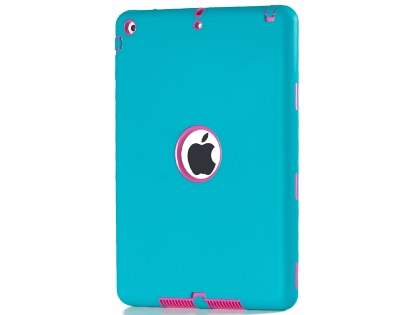 Impact Case for iPad Air 1st Gen - Sky Blue/Pink Impact Case