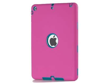 Impact Case for iPad Air 1st Gen - Pink/Teal Impact Case