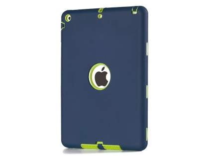 Impact Case for iPad Air 1st Gen - Navy/Lime Impact Case
