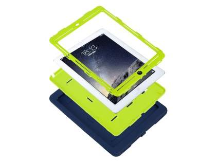 Impact Case for iPad Air 1st Gen - Navy/Lime