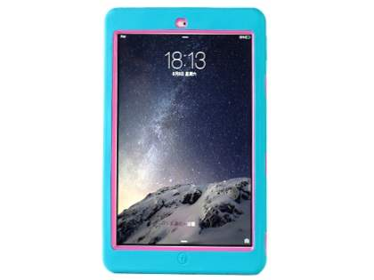 Impact Case for iPad Air 2 - Sky Blue/Pink