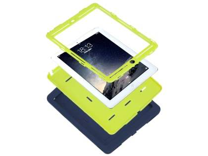 Impact Case for iPad Air 2 - Navy/Lime