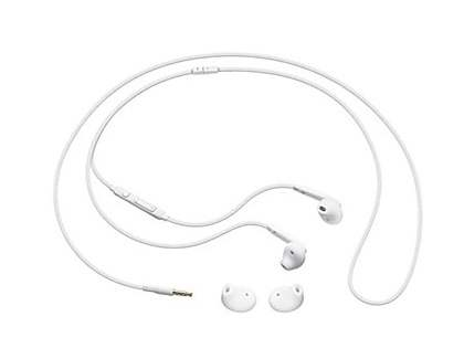 Genuine Samsung EO-EG920BW Stereo Headset for Galaxy S6