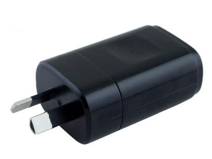 Genuine LG 1800mA Wall Power Adapter with USB Port - Classic Black AC Wall Charger