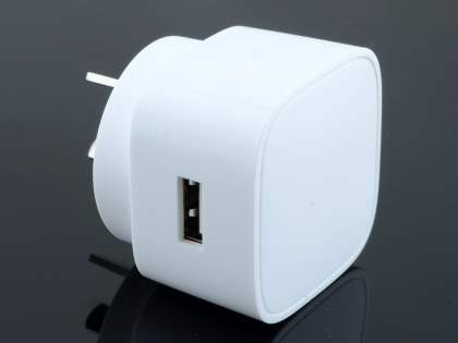Genuine Huawei 2A AC Charger Adaptor with USB Port - White
