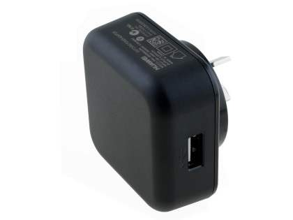 Genuine Huawei 2A AC Charger Adaptor with USB Port - Black