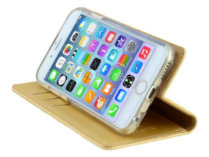 Mercury Goospery Blue Moon Wallet Case for iPhone 6s/6 - Gold