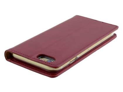Mercury Blue Moon Wallet Case for iPhone 6s Plus / 6 Plus - Burgundy