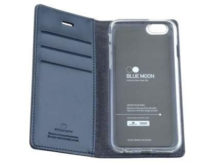 Mercury Goospery Blue Moon Wallet Case for iPhone 6s Plus/6 Plus - Navy