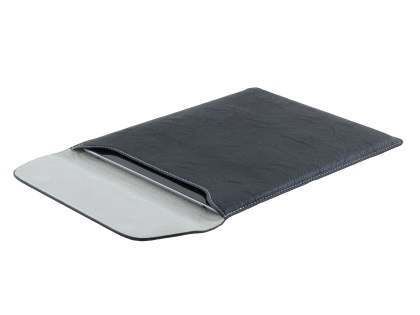 Synthetic Leather Slide-in Case for Tablets - Classic Black