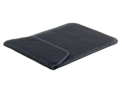 Synthetic Leather Slide-in Case for Tablets - Classic Black Leather Slide-in Case