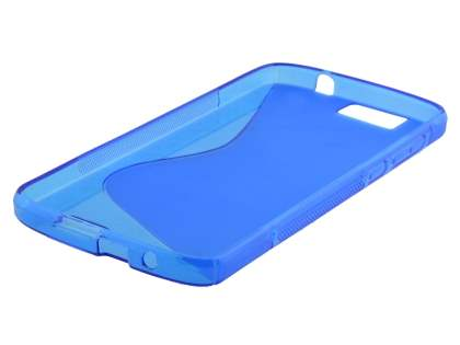 Wave Case for Huawei G7 - Frosted Blue/Blue