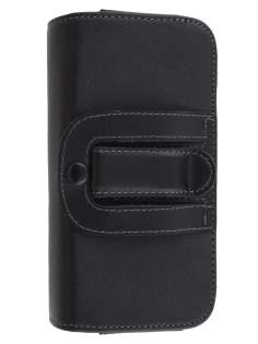 Extra-tough Genuine Leather ShineColours belt pouch (Bumper Case Compatible) for ZTE Telstra Tough Max
