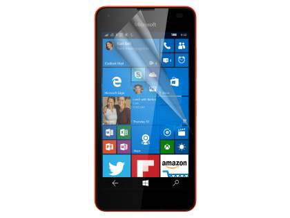 Ultraclear Screen Protector for Microsoft Lumia 550 - Screen Protector