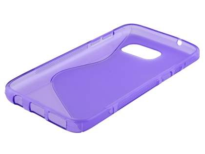 Wave Case for Samsung Galaxy S7  - Frosted Purple/Purple